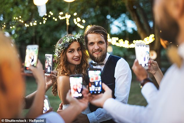 Collecting wedding video footage on smartphone