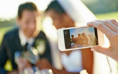 Tips and tricks of shooting a wedding video with a smartphone.
