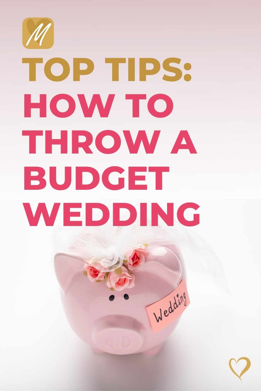 6 Top Tips | How to throw a budget wedding
